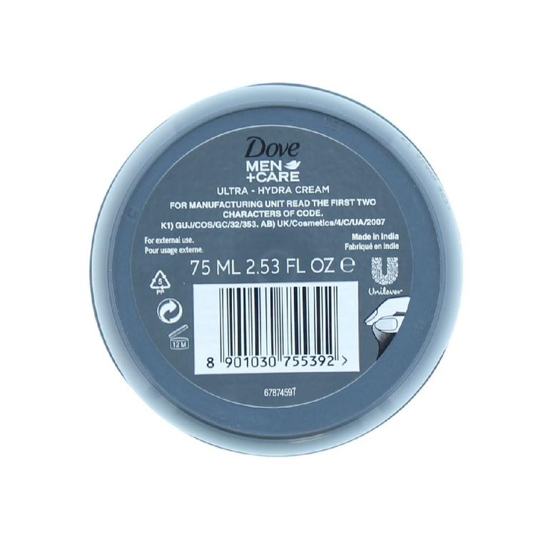 Dove MEN+CARE Ultra Hydra Cream 75ml