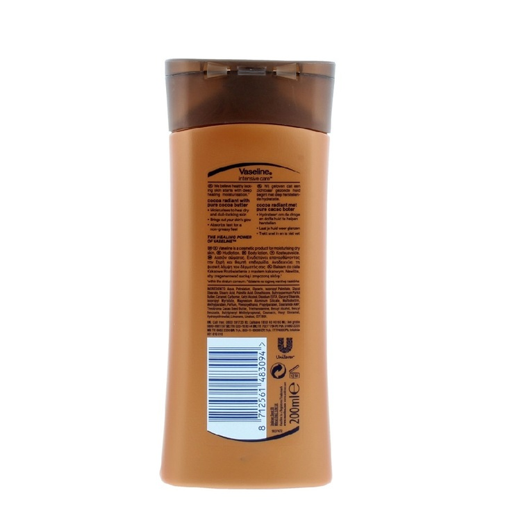 Vaseline Intensive Care Body Lotion Cocoa Radiant 200ml
