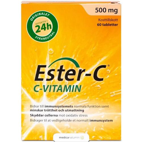 Ester-C 500 mg 60 tablets