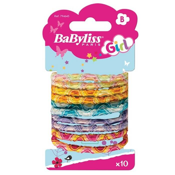 BaByliss Girl Cashmere Hair Tie 10 pcs