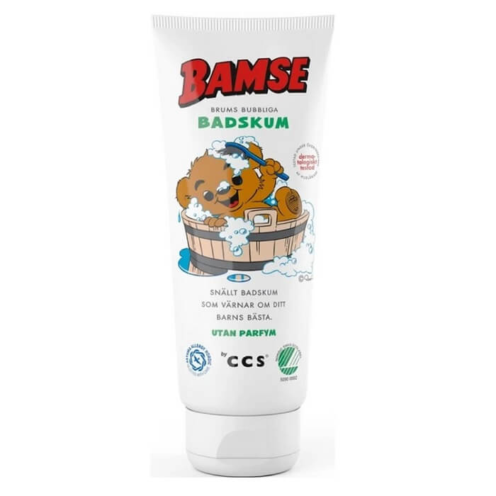 Bamse by CCS Brums Bubble Bath Foam 200 ml