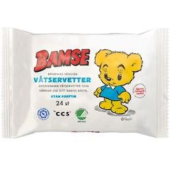 Bamse by CCS Teddy bear Wet wipes 24 pcs