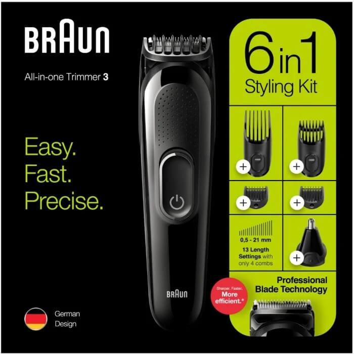 Braun 6-in-1 trimmer MGK3220