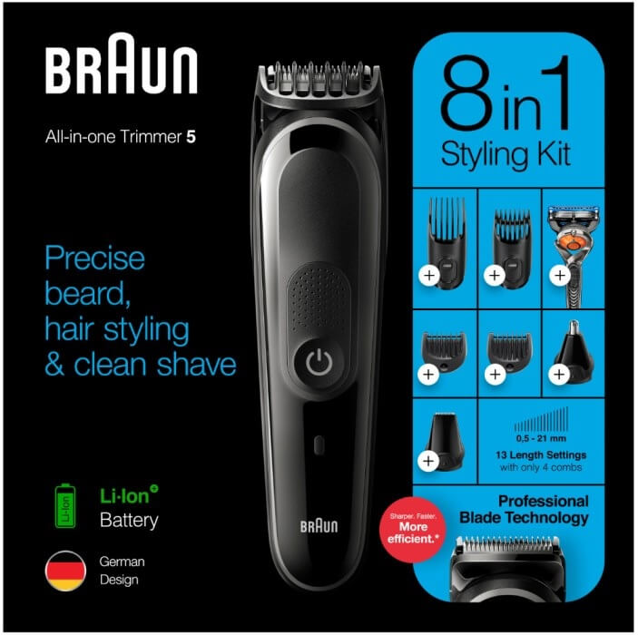 Braun 8-in-1 Trimmer MGK5260 MEN
