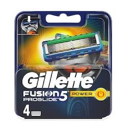 Gillette Fusion5 ProGlide Power razor blade 4 pcs
