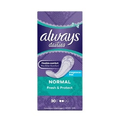 Always Dailies Fresh & Protect Normal 30 pcs Unscented