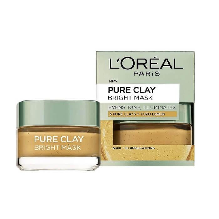 L'oreal Pure Clay Bright Mask 50ml