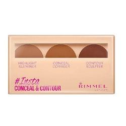 Rimmel Insta Conceal & Contour Palette Dark #030