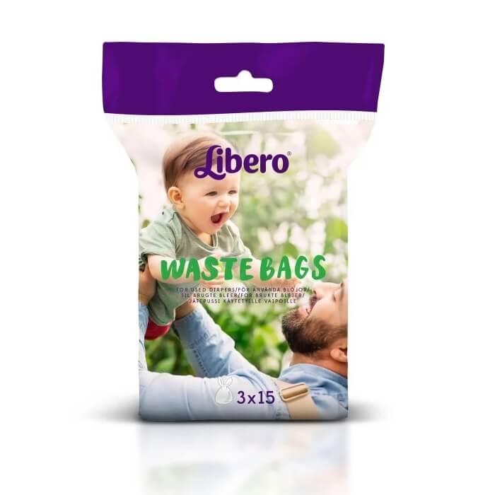Libero Diaper Bags 45 pcs