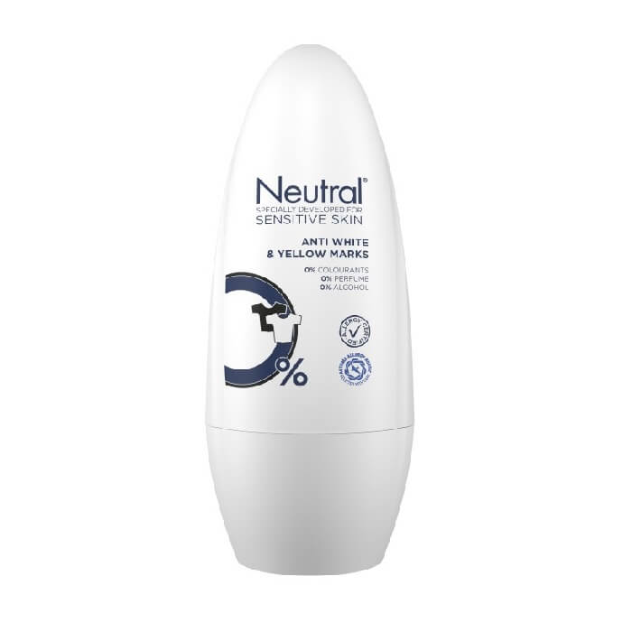 Neutral Anti White & Yellow Marks Roll-On Deodorant 50 ml