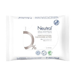 Neutral Gentle Facial Cleansing Wipes 25 pcs