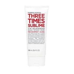 Formula 10.0.6 Three Times Sublime 3 in 1 Blackhead 100 ml