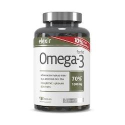 Elexir Omega-3 Forte 1000mg 132 Capsules