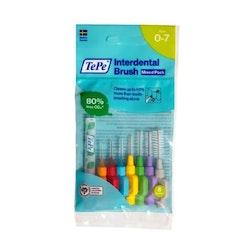 TePe Interdental Brush Mix pack 8 pcs