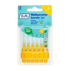 TePe Interdental brush Yellow 0.7 mm 6 pcs