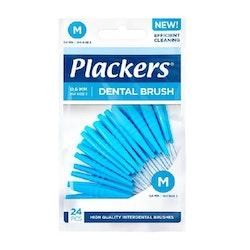 Plackers Interdental Brush Medium 0,6 mm 24 pcs