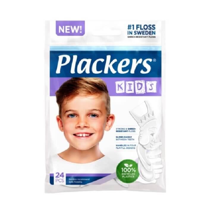 Plackers Dental Floss for Children 24 pcs