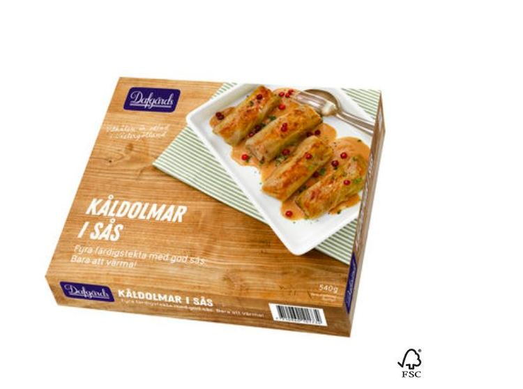 Lasagne i Ugn Fryst Dafgård 1kg