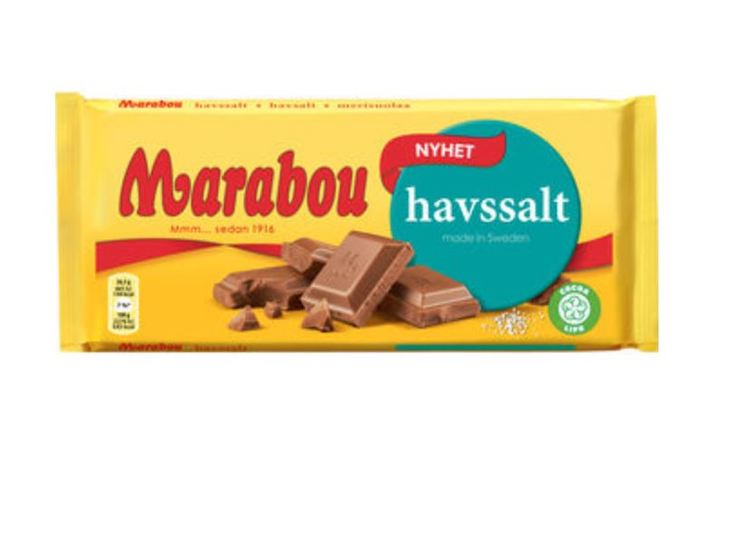 Marabou havssalt 185g