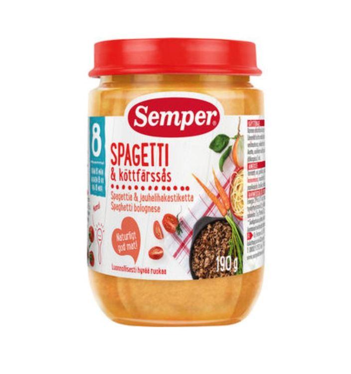 Spagetti och köttfärssås