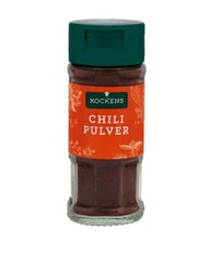 Chilipulver kockens
