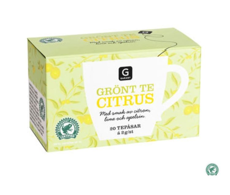 Citrus Grönt Te