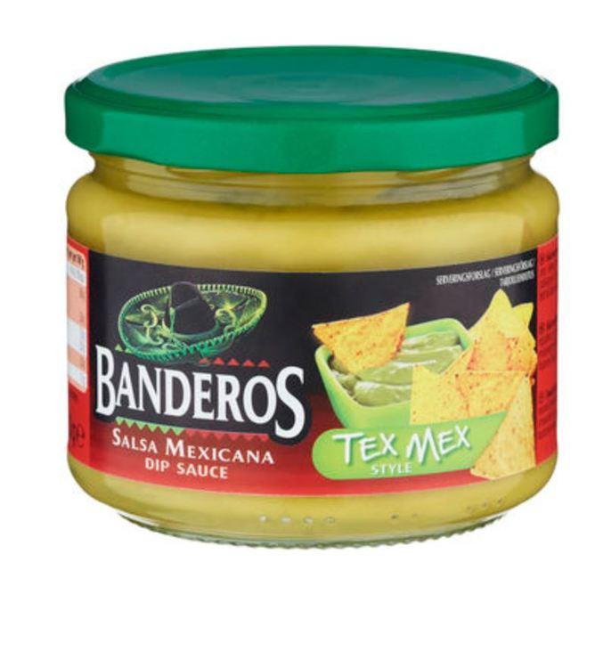 Tex Mex Dip Banderos