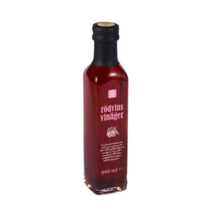 Rödvinsvinäger Garant 250ml