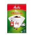 Kaffefilter 1x4 Vit Melitta 80st