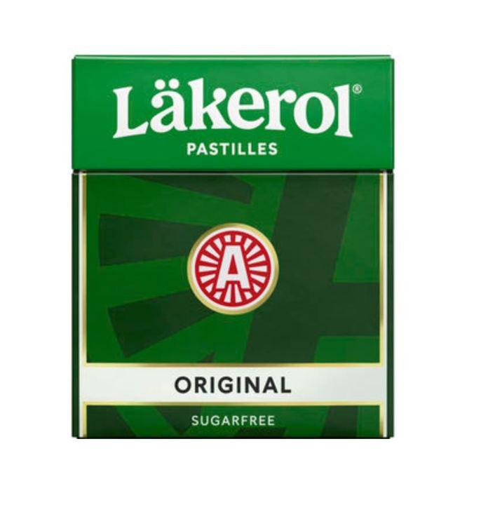 Original Halstablett Läkerol 25g