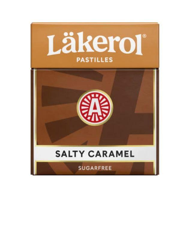 Salty Caramel Halstablett Läkerol 25g
