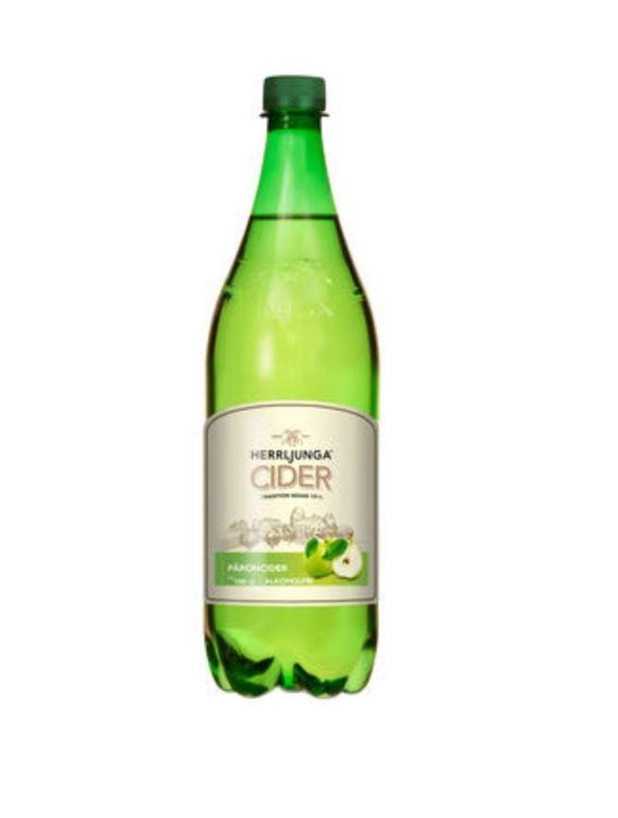 Cider Päron Alkoholfri Herrljunga 1l