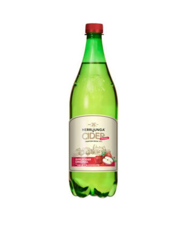 Cider Äpplecider Original Alkoholfri Herrljunga 1l