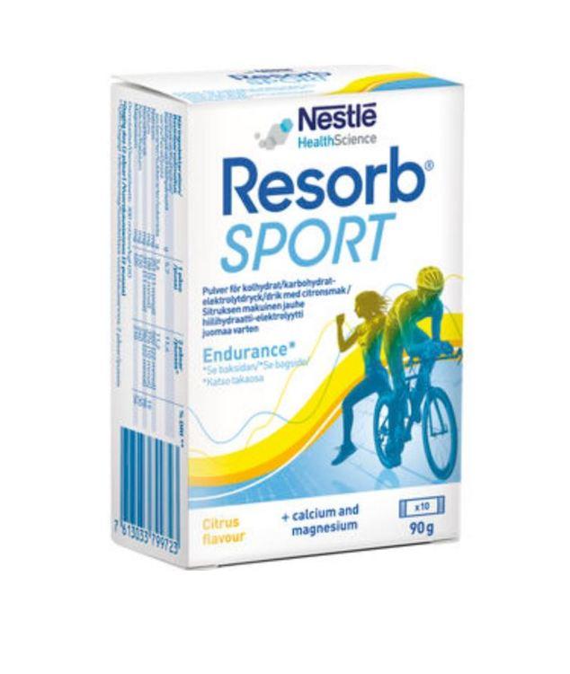 Resorb Sport Citrus Pulver Vätskeersättning