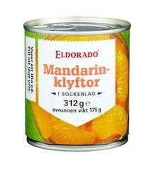 Mandarin Klyftor i Sockerlag