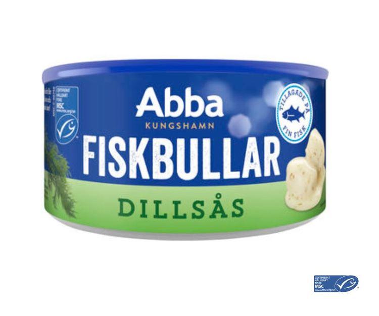 Fiskbullar i Dillsås Abba