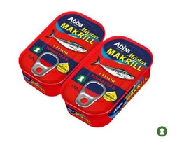 Mästarmakrill Tomatsås Abba 2-pack