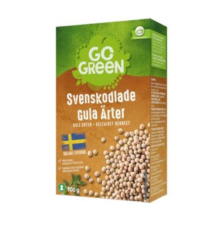 Gula Ärter Torkade Gogreen