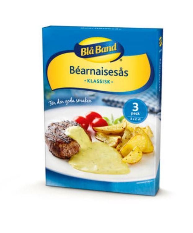 Bearnaisesås Pulver Blå Band 3p