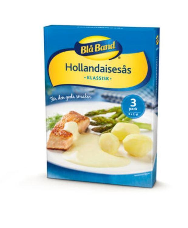 Hollandaisesås Pulver Blå Band 3p