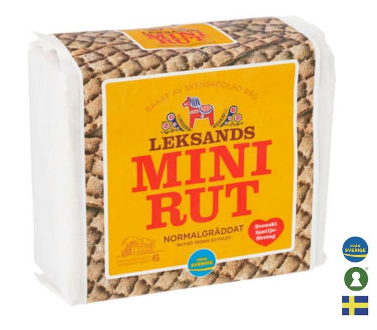 Knäckebröd Mini-rut Leksands 200g