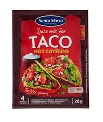 Taco Hot Cayenne Spice Mix