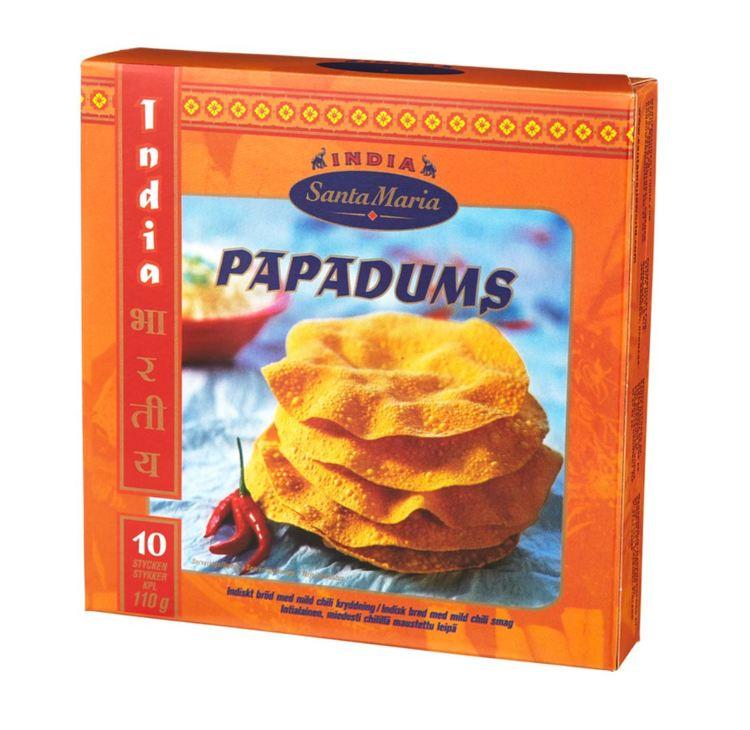 Papadums