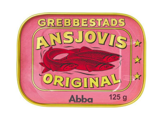 Ansjovis Original Grebbestads 125/79g
