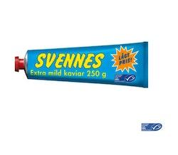 Svennes Kaviar Mildrökt Svennes 250g