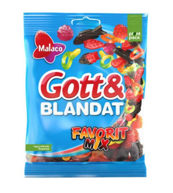 Gott & blandat Favoritmix 140g