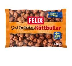 Köttbullar Små Delikatess Frysta Felix 420g
