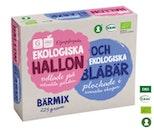 Hallon & Blåbär Frysta Garant Eko 225g