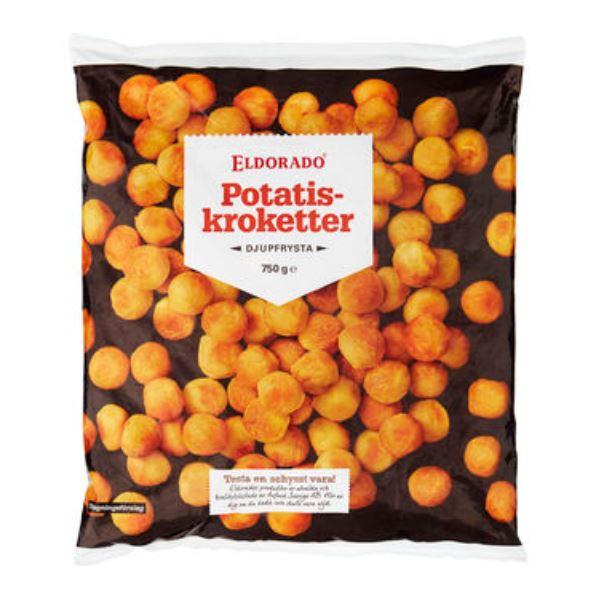 Kroketter Potatis Frysta Eldorado 750g
