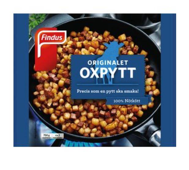 Oxpytt Pyttipanna Fryst Findus 750g